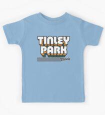 Tinley Park, Illinois | Retro Stripes Kids Tee