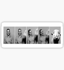 Buster and the Sheep Sticker