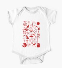 Buffy Symbology, Red One Piece - Short Sleeve