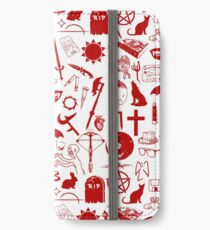 Buffy Symbology, Red iPhone Wallet/Case/Skin