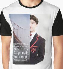 Dark Side Blaine Anderson / Darren Criss Graphic T-Shirt