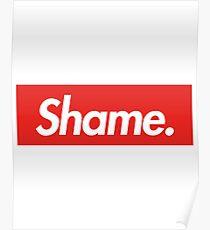 Game of Thrones - Shame. Shame. Shame. (Supreme Style) Poster