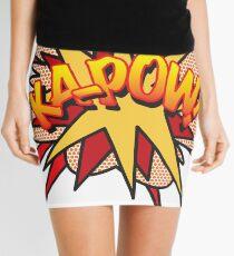 Comic Book Pop Art KA-POW! Mini Skirt