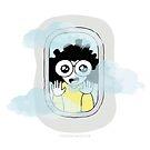 Wanderlust - Look Outside the Plane Window by mydoodlesateme