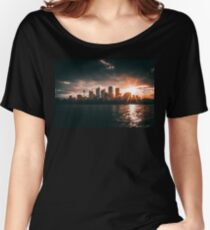 Stormy Sydney Sunset Women's Relaxed Fit T-Shirt