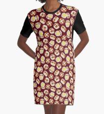 Hot Cross Buns Graphic T-Shirt Dress