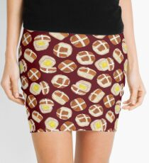 Hot Cross Buns Mini Skirt