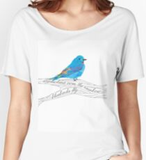 Bluebirds Fly Women's Relaxed Fit T-Shirt