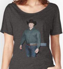 Brendan Fraser Cowboy Women's Relaxed Fit T-Shirt