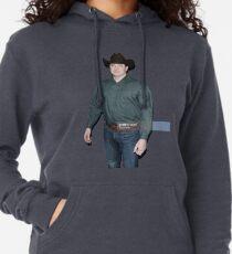 Brendan Fraser Cowboy Leichter Hoodie
