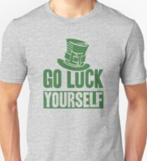 Good luck yourself gifts merchandise redbubble go luck yourself unisex t shirt solutioingenieria Gallery