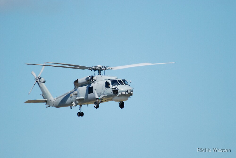 Sea King Helicopter by Richie Wessen