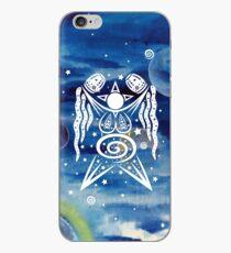 Pagan Art. Sternengöttin mit Wasser und Sternen. iPhone-Hülle & Cover