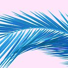 Tropical Dream - Azure and Pink by Dominiquevari