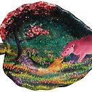 « Bisous d'hippopotame  » par Stiopic