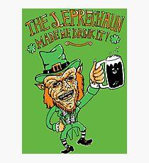 The leprechaun Photographic Print