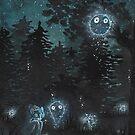 « fantômes  » par Stiopic