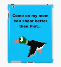 Duck hunt-2 iPad Case/Skin