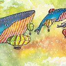 « festival des baleines » par Stiopic