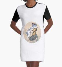 Big Hug Graphic T-Shirt Dress