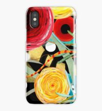 Ruoydetequila Art 2018 - Wild Elegant Ranunculus Painted Spring Collection iPhone Case/Skin