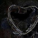 Glass Heart 6 by Yvonne Carsley