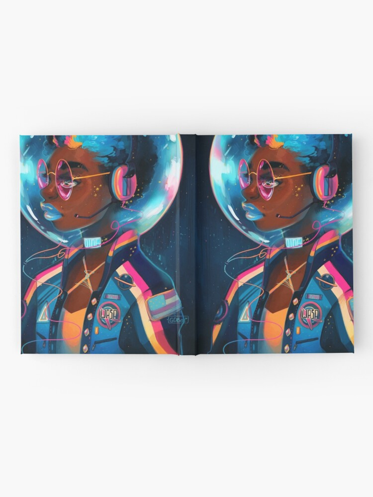 Alternate view of Space Letterman II Hardcover Journal