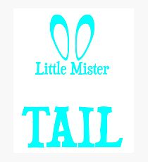 Little Mister Cotton Tail T-shirt Photographic Print