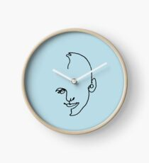 The Son - one-liner Clock