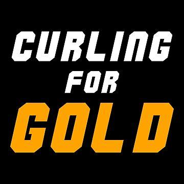 Curling for Gold Medal by waltondt