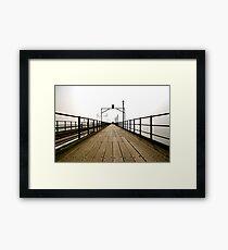 Pier Review Framed Print