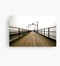 Pier Review Canvas Print