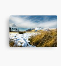 Blencathra - Lake District - Cumbria Canvas Print