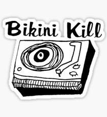 Bikini Kill Riot Grrrl Sticker
