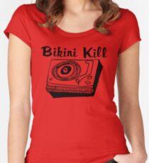 Bikini Kill Riot Grrrl Tailliertes Rundhals-Shirt