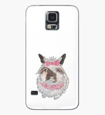 Watercolour Lionhead rabbit Case/Skin for Samsung Galaxy