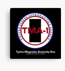 Tycho Magnetic Anomaly 1 - Inspired by 2001 : A Space Odyssey Canvas Print