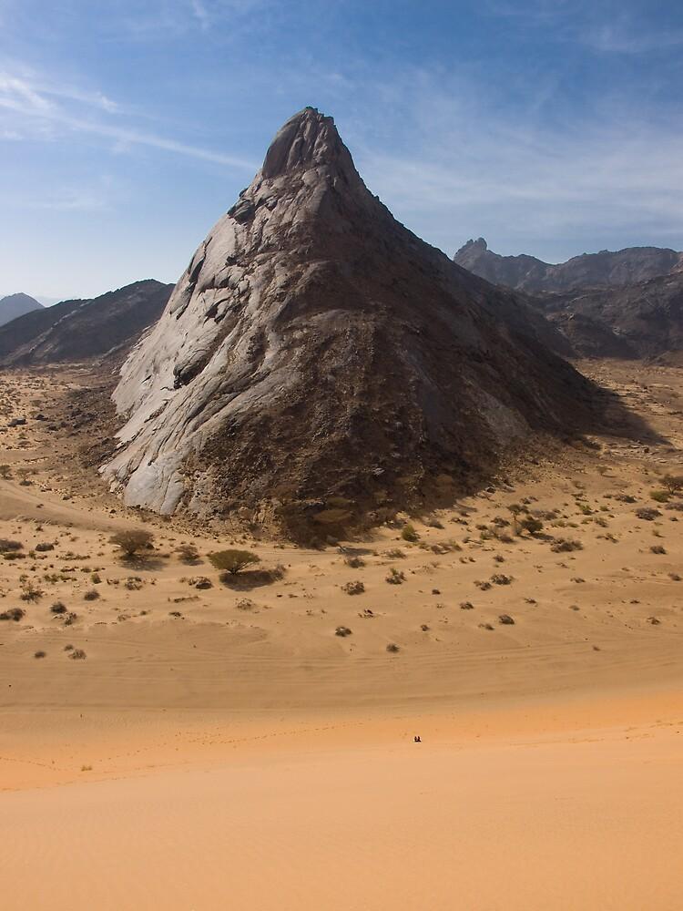 The Towering Marib Desert - Yemen by Lisa Germany