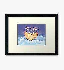 Ray to Go! / Manta Ray Of Sunshine Framed Print