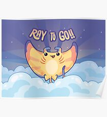 Ray to Go! / Manta Ray Of Sunshine Poster