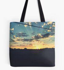 Sunbeams Scenery  Tote Bag