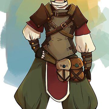 Gnome Rogue by FayeP