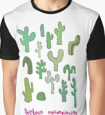 13 unconvincing cacti and 2 ok ones Graphic T-Shirt