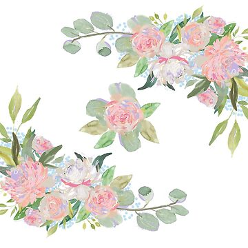 Floral Wreath Border III by DesignsByDebQ