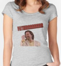 IT Crowd - Father Women's Fitted Scoop T-Shirt