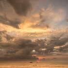 Bentota Sunset by Brendan Buckley