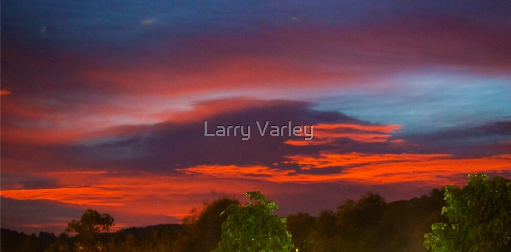 A view from the Porch by Larry Varley