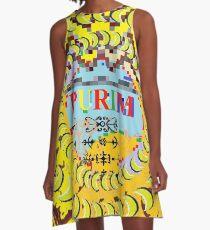 Purim, Jewish holiday A-Line Dress