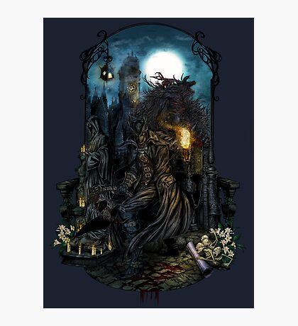 Bloodborne - The Hunt Photographic Print
