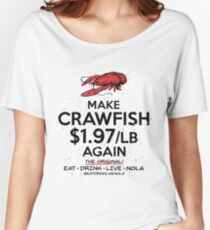 MAKE CRAWFISH $1.97/lb AGAIN on White Women's Relaxed Fit T-Shirt
